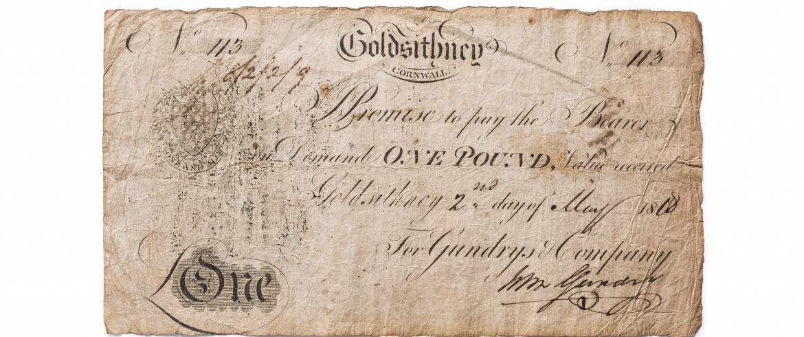 Cornish Pound Note