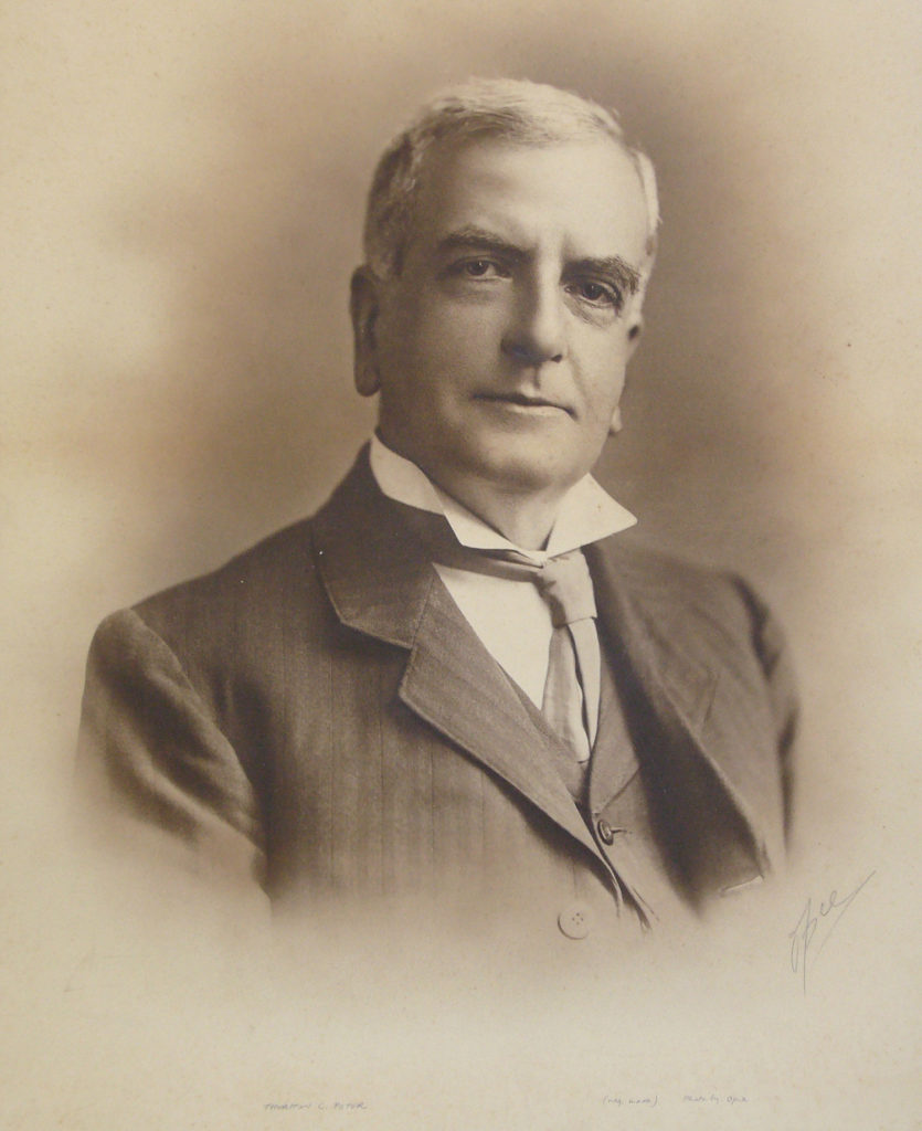 Mr Thurstan Collins Peter, President of the RIC from 1913 to 1916.